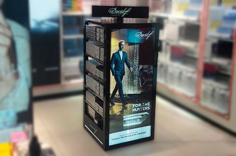 In-store Branding - Davidoff display