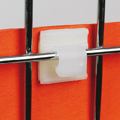 ADHESIVE SUPPORT WITH HOOK, 16X16 MM, FIXING ON WIRES