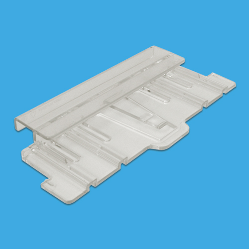 FASTENING ON SLEEPERS SLATBOX ACCESSORY, SIZE 204X90 MM, TRANSPARENT