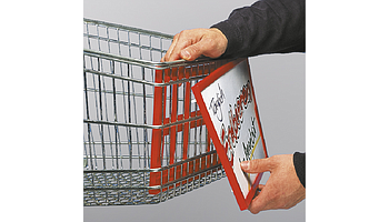 Frames for shopping trolleys