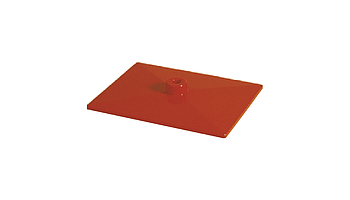 K plastic base, 200x150 mm