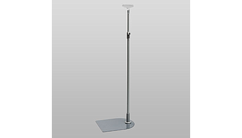 SILVER 1 stand with steel base