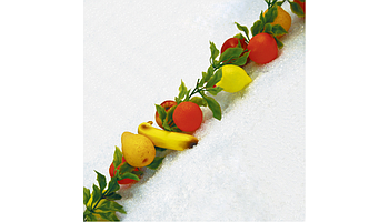 Decorative fruit garlands