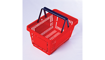 Plastic shopping carts & baskets