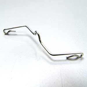 CEILING HOOK MADE FROM GALVANIZED STEEL 1,6 MM THICKNESS, FIXING ON 40 MM WIDTH BARS