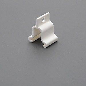 PLASTIC CEILING CLAMP WITH HOLE D 4 MM, FORCE UP TO 3 KG