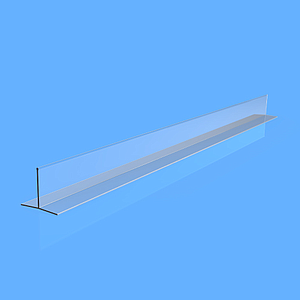 "EXTRUDED DIVIDER ""T"", 80X57X800 MM"