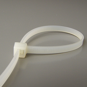 DISPOSABLE PLASTIC CABLE TIE, 300X3,6 MM
