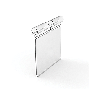 LABEL HOLDER, 26X100 MM, FOR 6 MM HOOKS DIAMETER