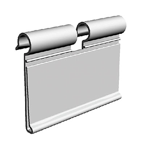 LABEL HOLDER, 52X100 MM, FOR MAX 8 MM HOOKS DIAMETER