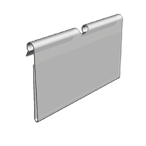 LABEL HOLDER, 39X70 MM, FOR MAX 6 MM HOOKS DIAMETER