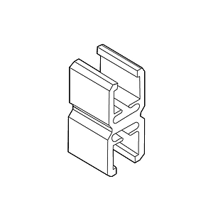 FRAME CONNECTOR FIXED, FOR FRAMES OF THE SAME SERIES - 1