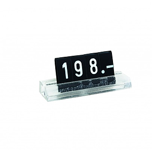 "MINI PRICE ""FIX"" CASSETTE, 6 MM HEIGHT, 35 MM LENGTH"