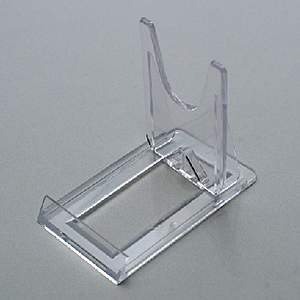 PLASTIC DISPLAY FOR LARGE ARTICLES