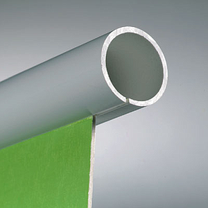 PLASTIC TUBE, 18,5 MM D, 700 MM LENGTH, WITH SLOT