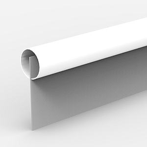 PVC TUBE WITH SLOT EXT DIAMETER 7 MM, 1000 MM  LENGTH