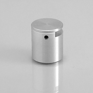 ALUMINIUM ACCESSORY 20X20 MM (DXH),WITH SIMPLE MOUNTING, FOR 3-7 MM MATERIAL THICKNESS