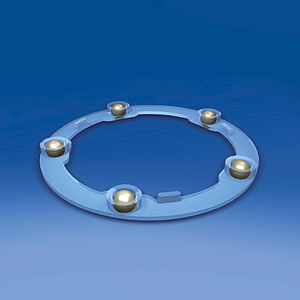 PLASTIC BEARING, D 94 MM, H 7,92 MM, WITH METAL BALLS