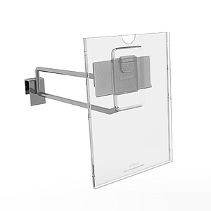 REFLEX LABEL HOLDER, 105X148 MM (A6) WITH MOUNTING OVER PRICE TICKET ON THE HOOK