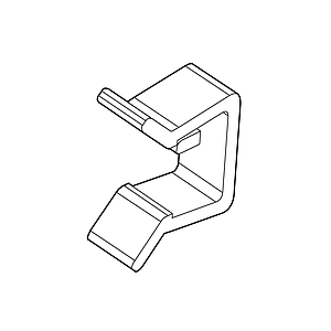 RETAINING CLIP FOR FRAMES SERIES 100