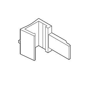 ADAPTOR PARALLEL FOR MAGNETIC FASTENER, FOR FRAMES SERIES 2