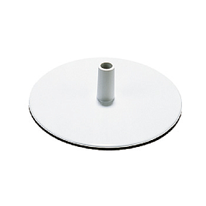 PLASTIC BASE K ROUND, 160 MM D, 4 MM THICKNESS
