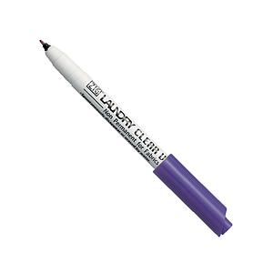 LAUNDRY CLEAR MARKER WITH THE TIP OF 0,7 MM, SEMIPERMANENT, VIOLET