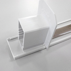 SLIDING PROFILE, 30 MM WIDTH, WITHOUT PERFORATION, 3000 MM LENGTH