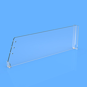 DIVIDER 120X205 MM (HXL), WITH A FIXING POINT