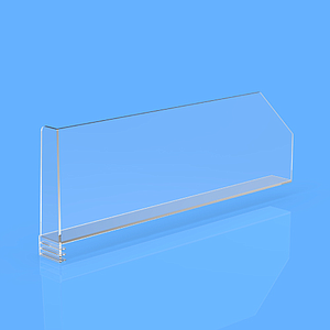 "DIVIDER 150X300 MM, WITH ""L"" FRONT LEFT 27/20x100 MM, WITHOUT FIXING POINTS"