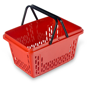 SHOPPING BASKET, 20 L