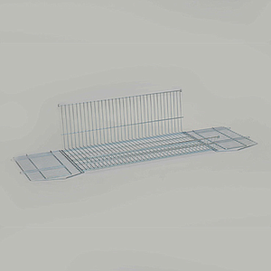 METAL BASKET, 640X600X350 MM (LXWXH)