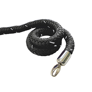 TEXTILE CORD 1500 MM WITH CHROMED MOUNTING RING
