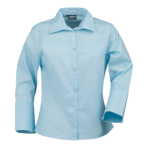 MAY LADIES SHIRT, 97% COTTON, 3% LYCRA