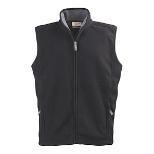 ENDURO FLEECE VEST, 100% POLYESTER