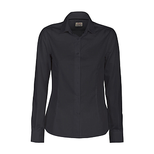 POINT LADIES SHIRT, 65% POLYESTER, 35% COTTON