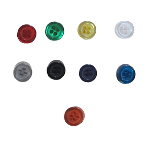 SHIRT BUTTONS SMALL, 100% POLYESTER