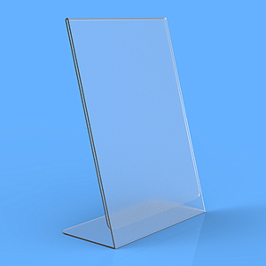 POSTER HOLDER L, A6P, 1 MM THICKNESS