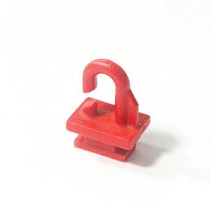 PLASTIC SUSPENSION HOOK FOR DECO PROFILES LPP 050-01 AND LPP 051-01