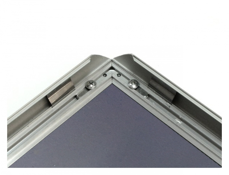 ALU-SNAP TYPE FRAME WITH MITRED CORNERS, A1 (594X841 MM), 25 MM PROFILE