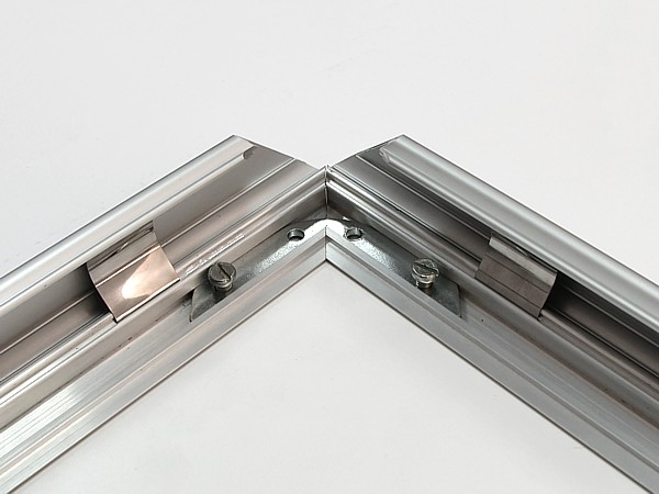 ALU-SNAP TYPE FRAME WITH MITRED CORNERS, A0 (841X1189 MM), 32 MM PROFILE; ALUMINUM
