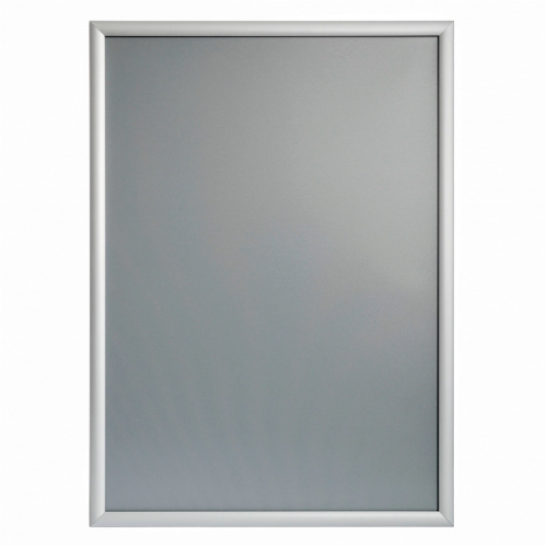 ALU-SNAP TYPE FRAME WITH MITRED CORNERS, A0 (841X1189 MM), 25 MM PROFILE; ALUMINUM